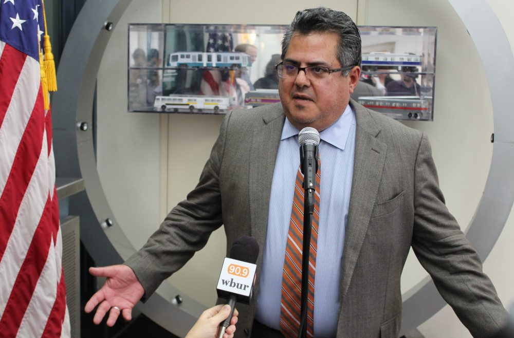MBTA General Manager Luis Ramirez. (Sam Doran/File/SHNS)