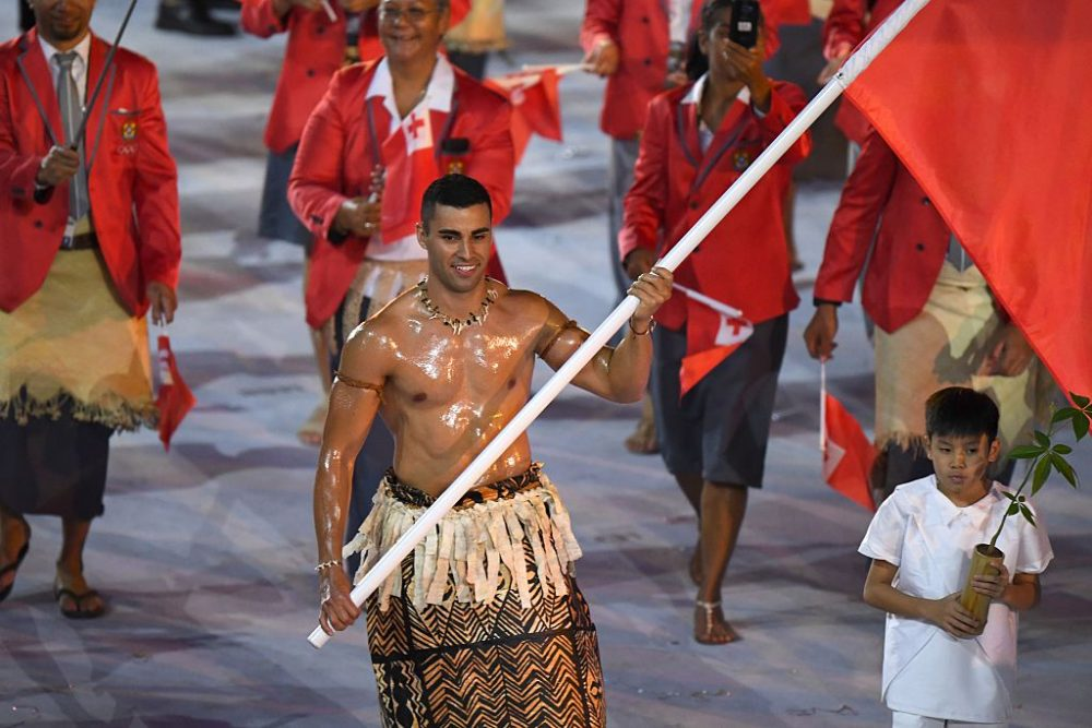 Tonga Winter Olympics 2020.After Gaining Fame For Going Shirtless In Rio Tongan Tries