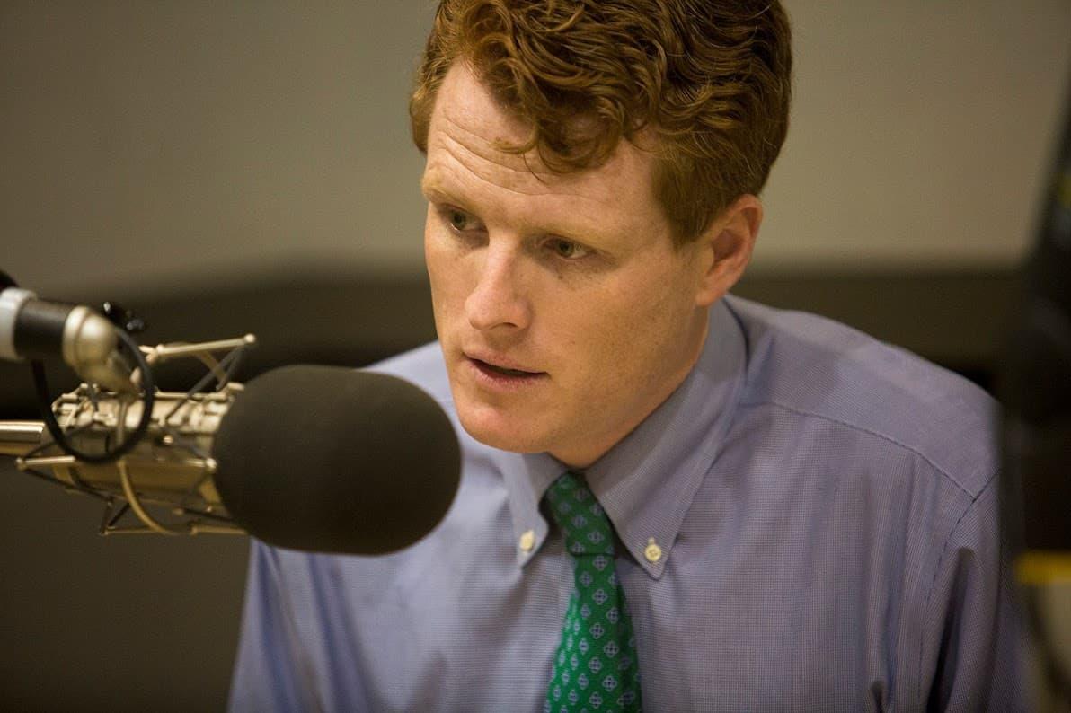Joseph Kennedy III is the U.S. representative for Massachusetts's 4th Congressional District. (Jesse Costa/WBUR)