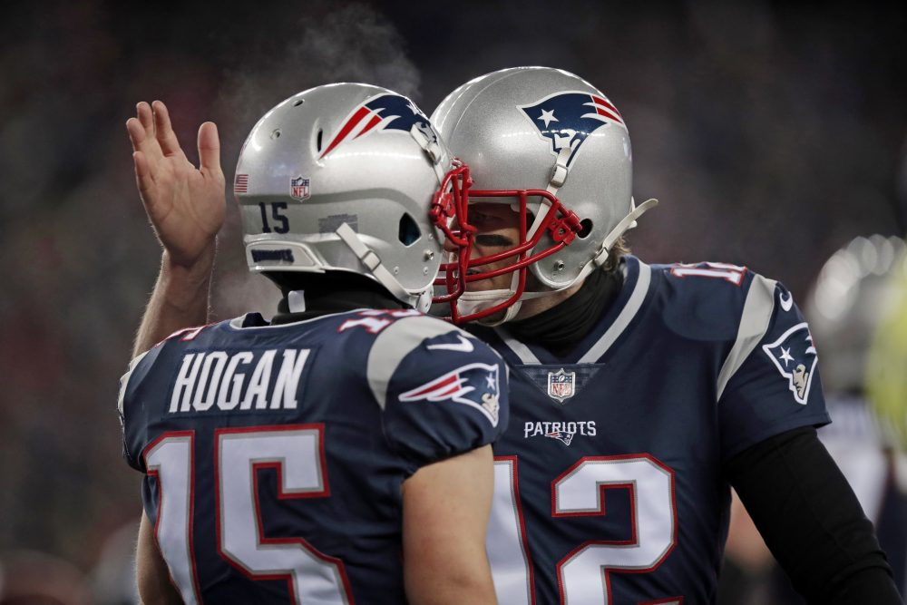 factory authentic c919a 8e017 Patriots Beat Titans 35-14, Head Back To AFC Title Game ...