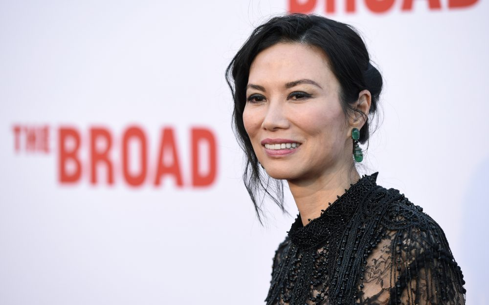 Wendi Murdoch poses at The Broad museum's opening and inaugural dinner on Thursday, Sept. 17, 2015, in Los Angeles. (Chris Pizzello/Invision/AP)
