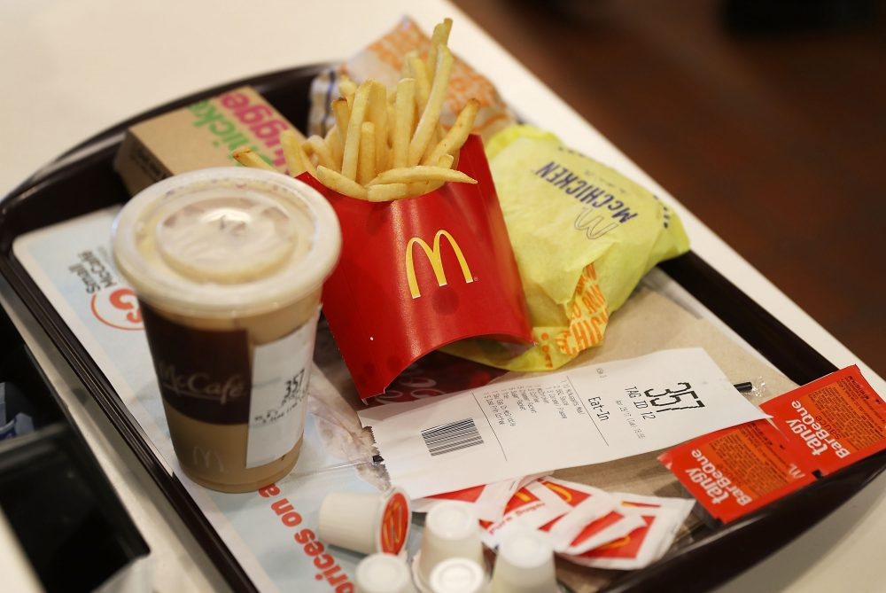 A McDonald's meal in Miami. (Joe Raedle/Getty Images)
