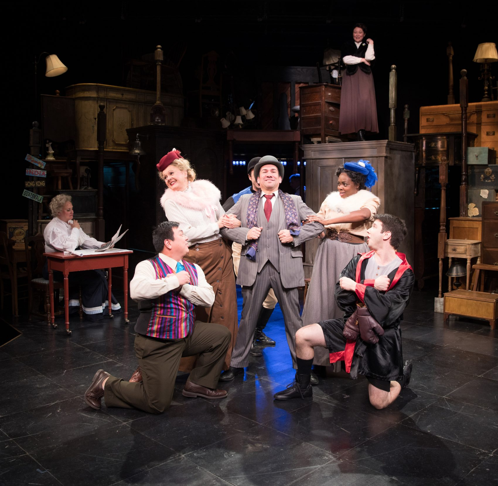 Lyric Stage's 'Road Show' Treads A Familiar Sondheim Street