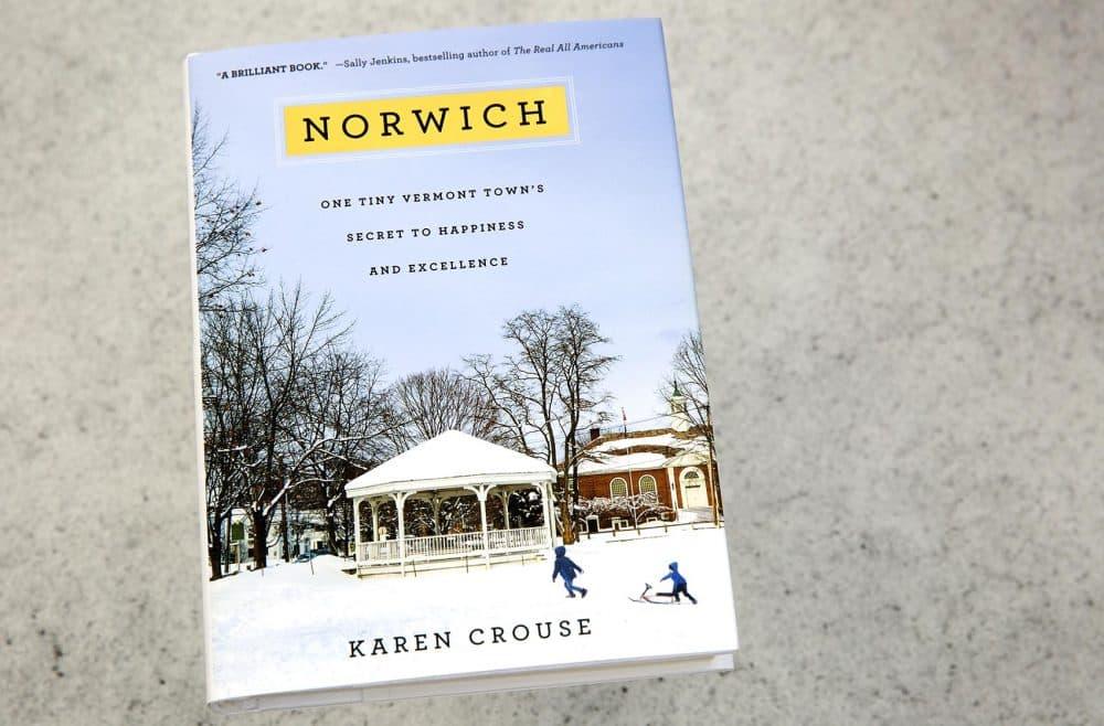 """""""Norwich,"""" by Karen Crouse. (Robin Lubbock/WBUR)"""
