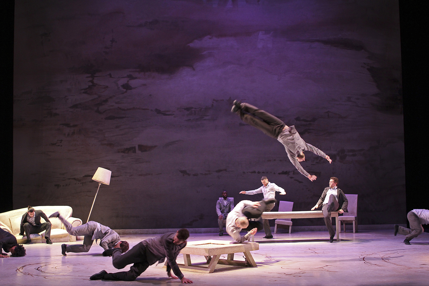 "Compagnie Accrorap performs ""The Roots."" (Courtesy João Garcia)"