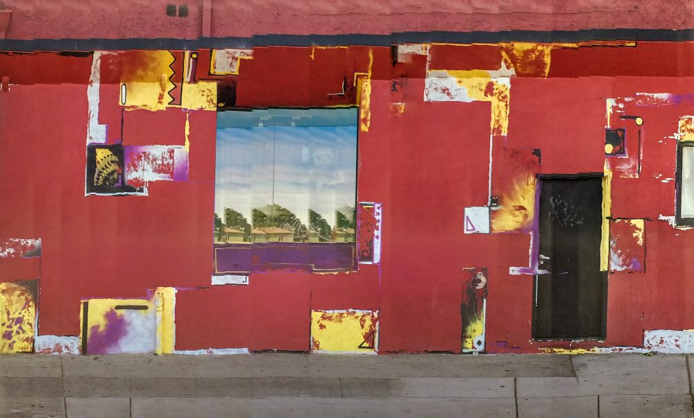 "A photograph titled ""The Red Studio"" after the Purcell's favorite Matisse painting. It was taken on Lincoln Boulevard in Santa Monica, California, in 2014. (Courtesy Rosamond and Dennis Purcell)"