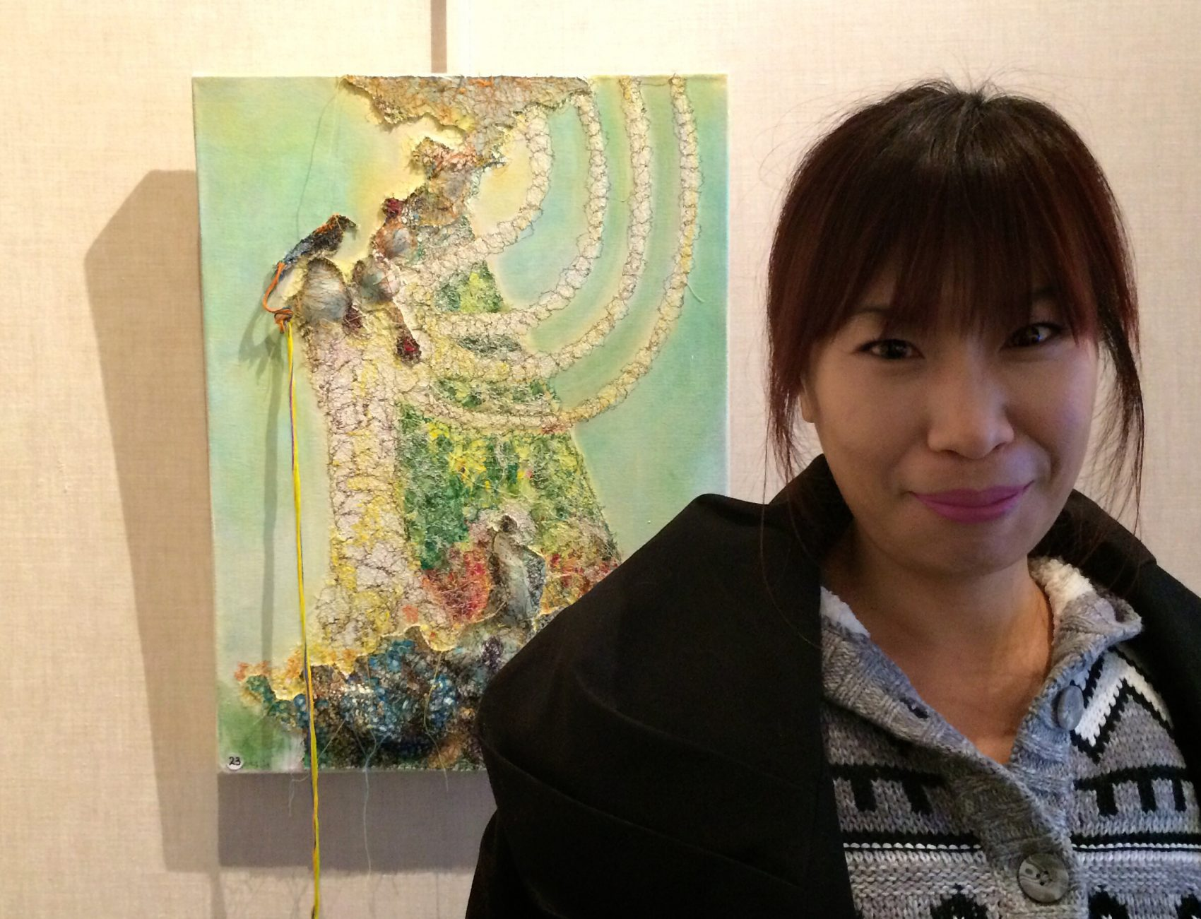 Artist On-Kyeong Seong. (Courtesy)