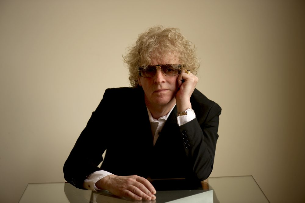 Musician Ian Hunter. (Courtesy Ross Halfin)