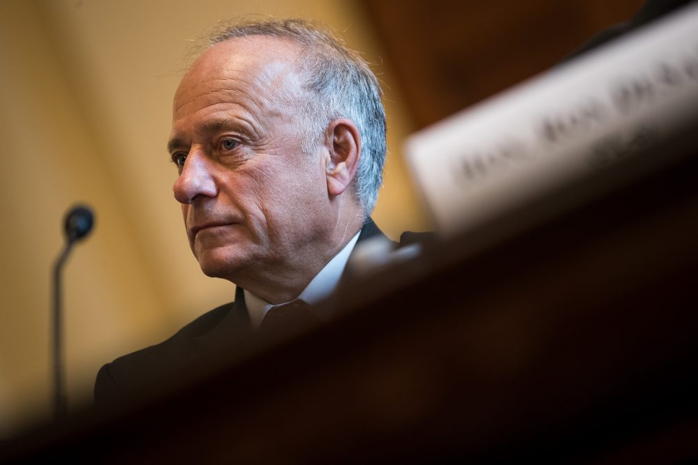 Rep. Steve King (R-Iowa) testifies during a House Veterans' Affairs Committee hearing, Sept. 26, 2017 in Washington, D.C. (Drew Angerer/Getty Images)