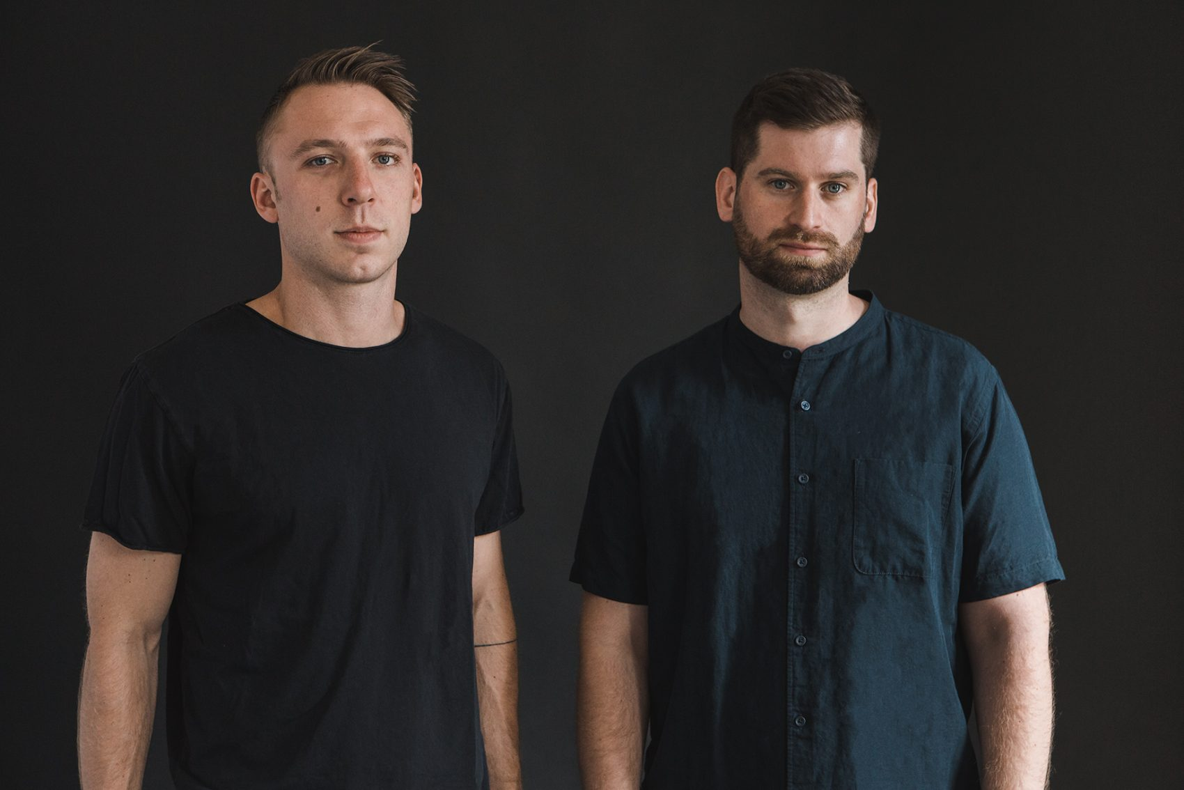 Clayton Knight (left) and Harrison Mills, of ODESZA. (Courtesy Avi Loud)