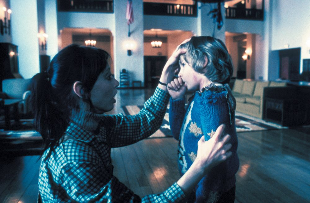 Shelley Duvall as Wendy Torrance and Danny Lloyd Danny Torrance. (Courtesy Coolidge Corner Theatre)