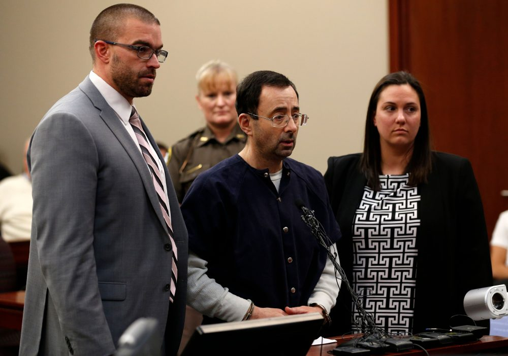 Should Michigan State and the NCAA have been able to stop Larry Nassar? (Jeff Kowalsky/AFP/Getty Images)