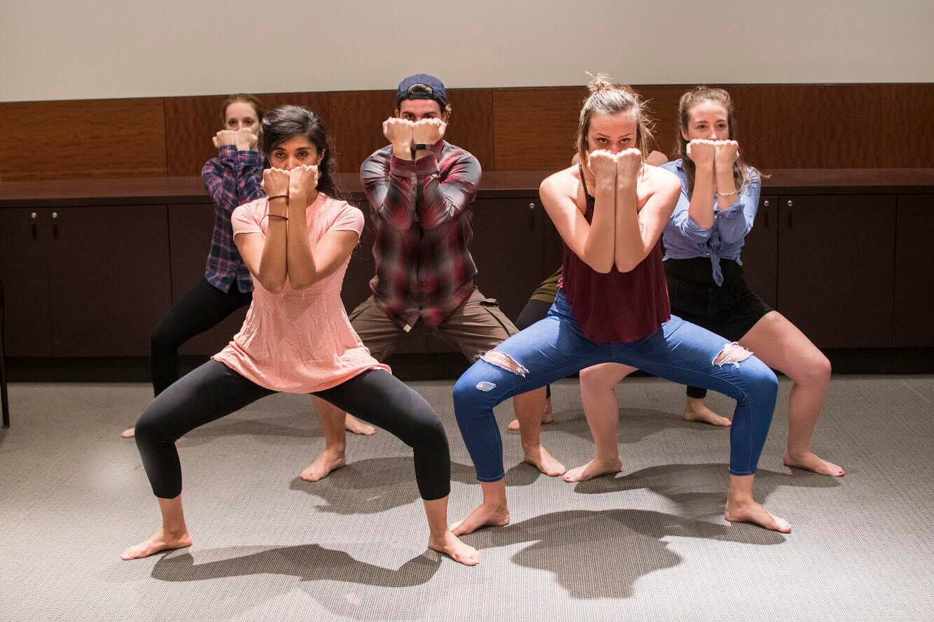 Dance ensemble members of ParadiseMoves. (Courtesy Mickey West Photography)