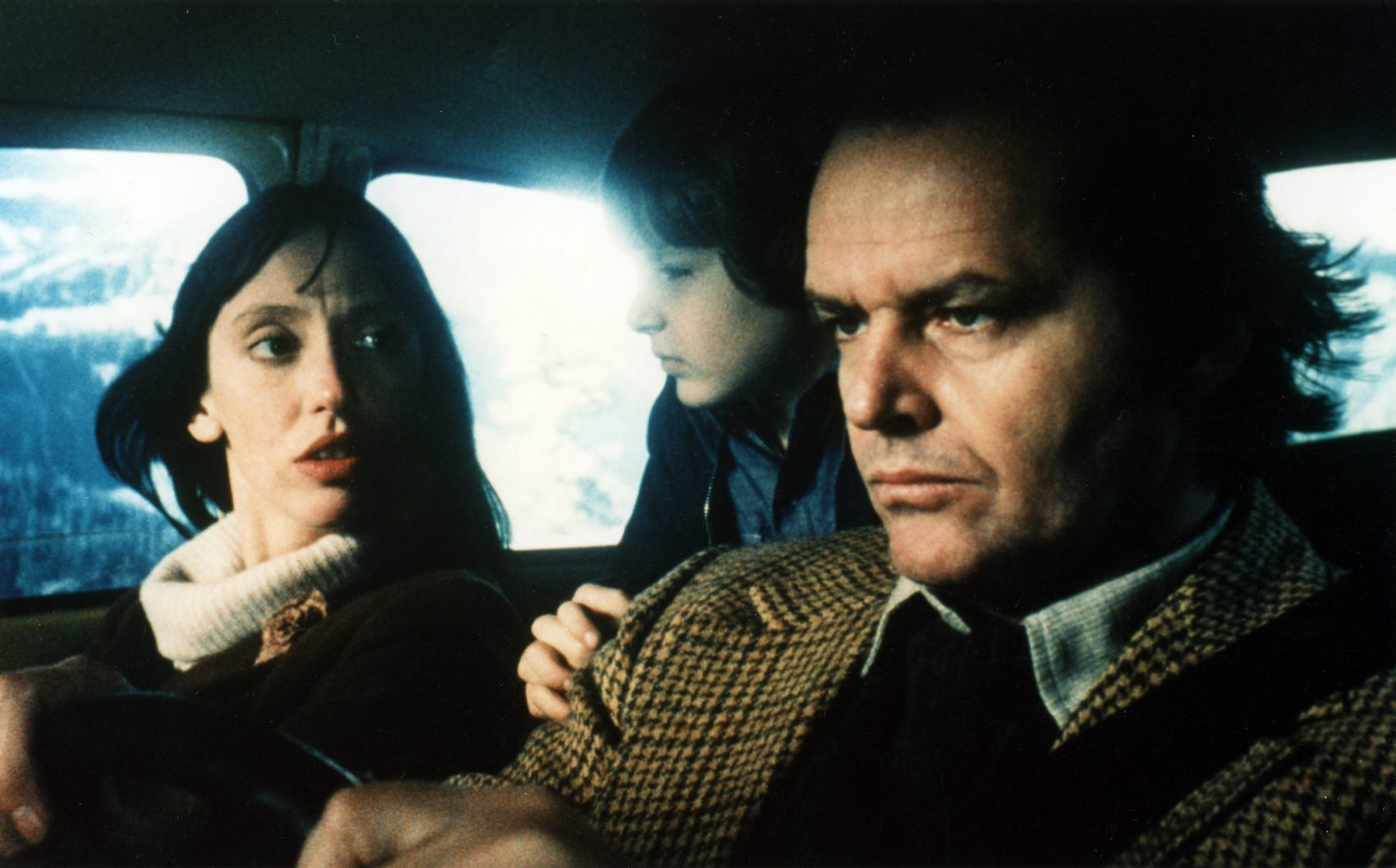 "Shelley Duvall, Danny Lloyd and Jack Nicholson in ""The Shining."" (Courtesy Coolidge Corner Theatre)"