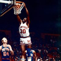 Bernard King is an NBA Hall of Famer whose road to basketball glory took a brief detour through Hollywood. (George Kalinksy for Madison Square Garden)