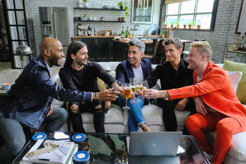 """A still from Netflix's """"Queer Eye for the Straight Guy."""" (Carin Baer/Netflix)"""