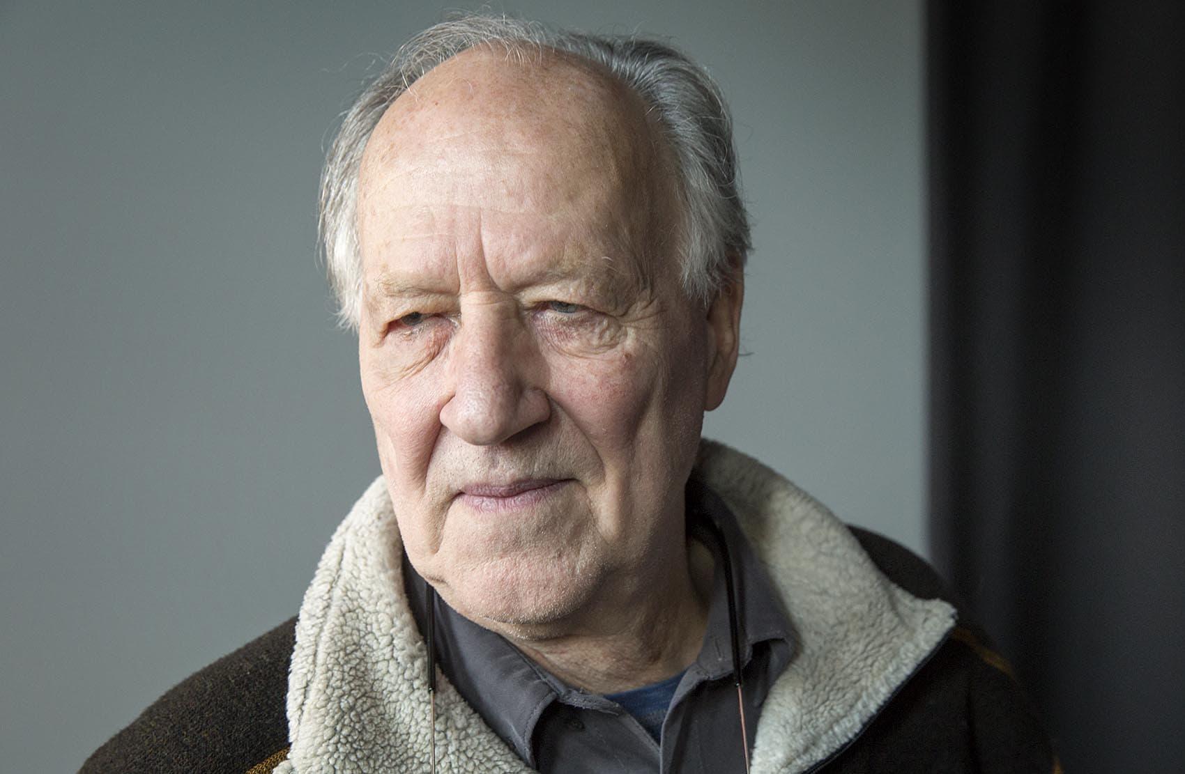 Filmmaker Werner Herzog. (Robin Lubbock/WBUR)