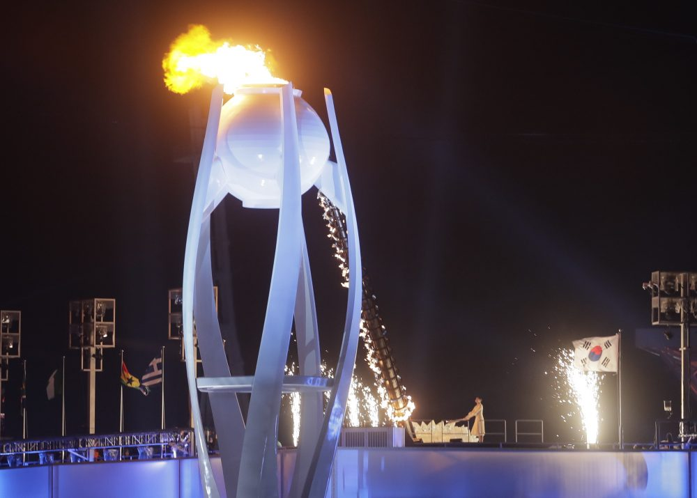 The Olympic flame has been lit, and the Games are underway. (Dmitri Lovetsky/AP)