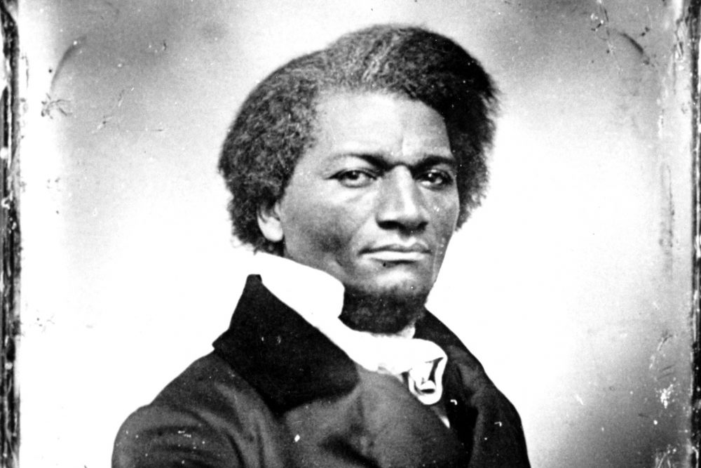 An undated photo of abolitionist Frederick Douglass. (AP Photo)