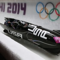 Steven Holcomb piloted the U.S. Olympic bobsled team at Sochi 2014, as well as Vancouver 2010. Filmmaker Brett Rapkin chronicled Holcomb's and other Olympians' battles with depression in his most recent film. (Julian Finney/Getty Images)