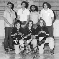 Reenie Baker (front right) founded the women's team at Boston College in 1973. (Courtesy Reenie Baker Sandsted)