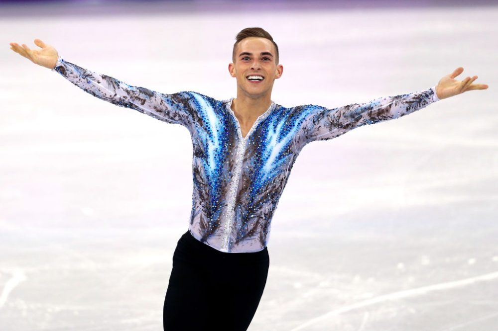 """I don't want my Olympic experience to be about Mike Pence. I want it to be about my amazing skating and being America's sweetheart,"" U.S. figure skater Adam Rippon said. (Maddie Meyer/Getty Images)"