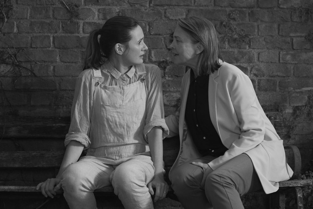 Emily Mortimer as Jinny and Cherry Jones as Martha. (Courtesy Nicola Dove/Roadside Attractions)