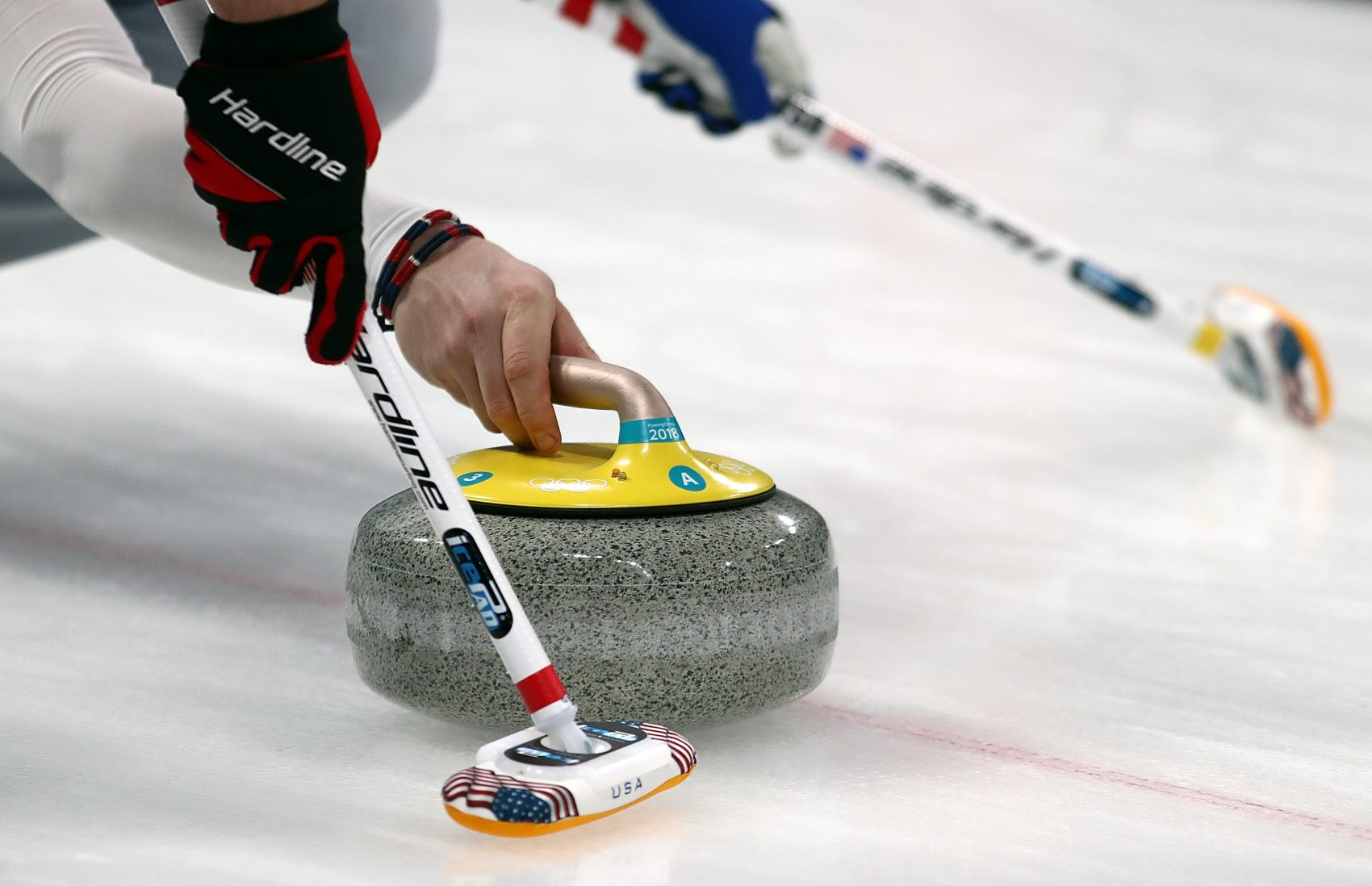 Kays of Scotland has produced all of the curling stones used in this year's Winter Olympics. (Ronald Martinez/Getty Images)
