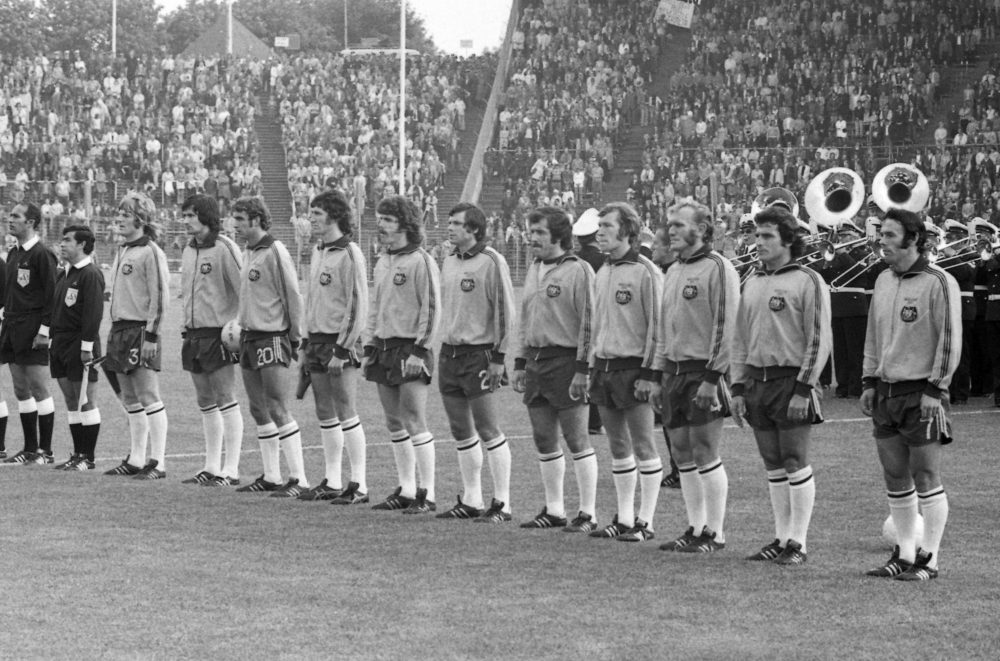 Before the Australian men's soccer team's first World Cup appearance in 1974 (pictured above), the team competed at an international competition in Saigon during the Vietnam War. (AP)