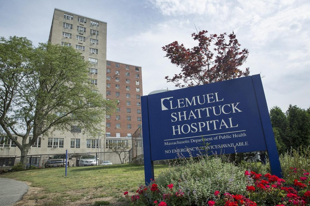The Lemuel Shattuck Hospital in Boston's Jamaica Plain neighborhood. (Robin Lubbock/WBUR)