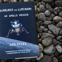 """Sunburst and Luminary, An Apollo Memoir,"" by Don Eyles. (Robin Lubbock/WBUR)"
