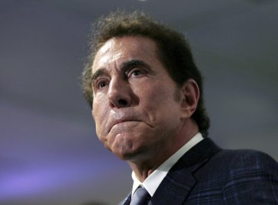 Casino mogul Steve Wynn at a news conference in Medford, Mass. in 2016. (Charles Krupa/AP)