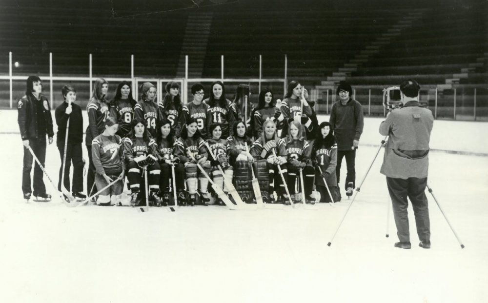 fde73c34466 Reggie Baker (now Reggie Robbins) led the way for creating women s hockey  as a
