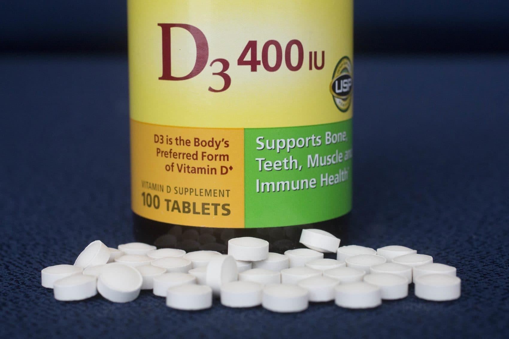 Vitamin D pills (Mark Lennihan/AP)