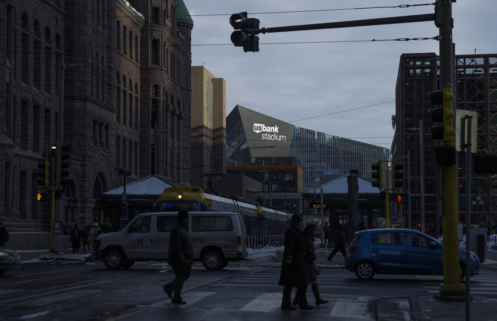 Patriots and Eagles fans are coming to Minneapolis with big reputations. (Matt Slocum/AP)