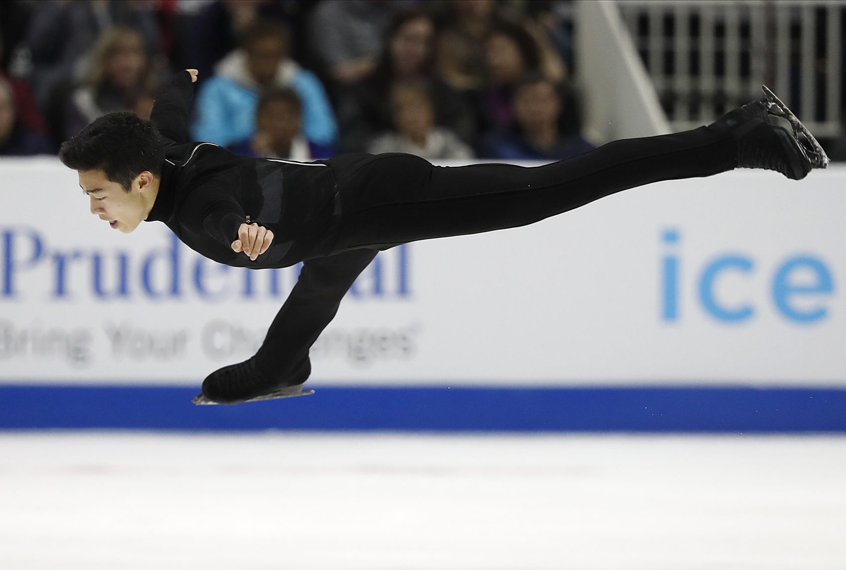 In this Saturday, Jan. 6, 2018, file photo, Nathan Chen performs during the men's free skate event at the U.S. Figure Skating Championships in San Jose, Calif. (Tony Avelar/AP)