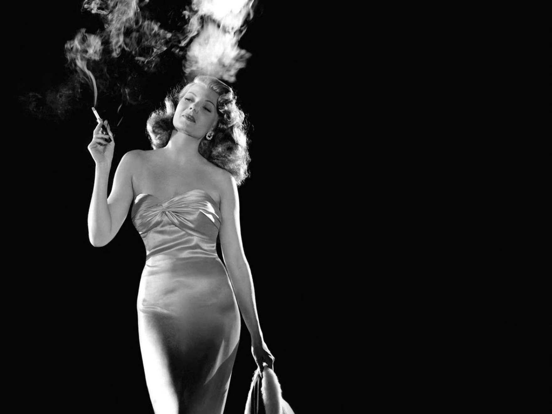 "A still from 1946's ""Gilda."" (Courtesy Museum of Fine Arts, Boston)"