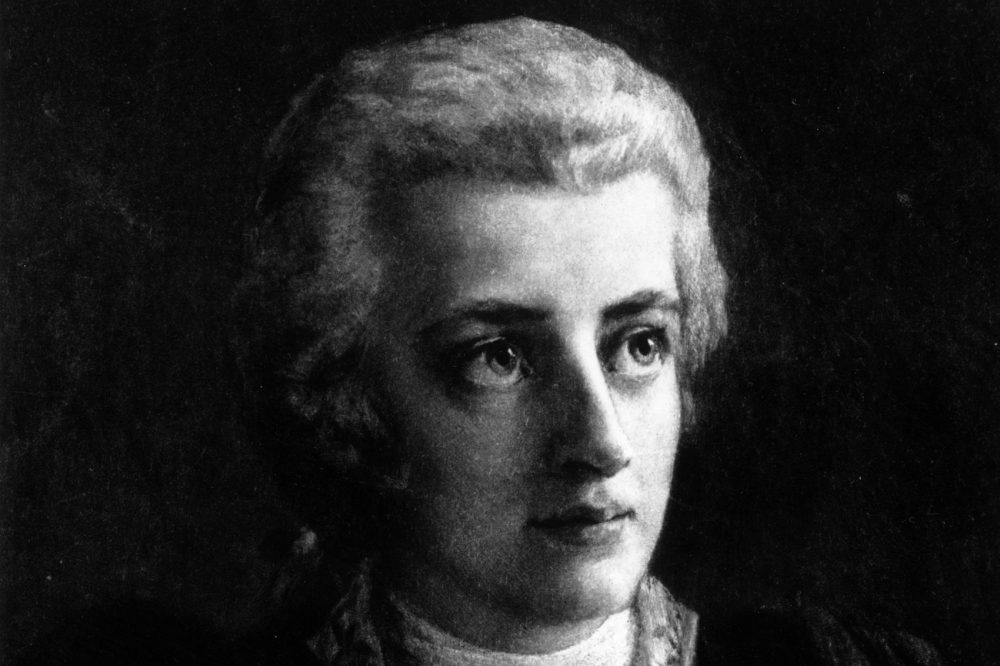 Wolfgang Amadeus Mozart, circa 1775, in an original piece of artwork by Lorenz Vogel, circa 1891. (Hulton Archive/Getty Images)