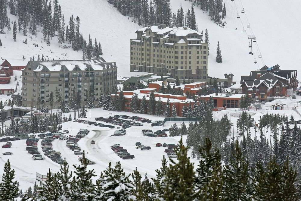 An overview of the Big Sky Resort, Feb. 15, 2007 in Big Sky, Mont. (Lucas Flory/AP)