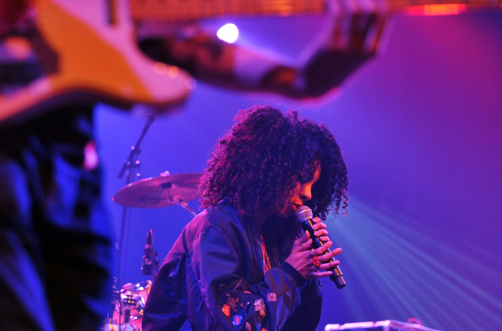 English reggae singer Hollie Cook performs on stage during the 36th edition of Le Printemps de Bourges rock and pop festival in Bourges, central France, on April 27, 2012. (Alain Jocard/AFP/GettyImages)