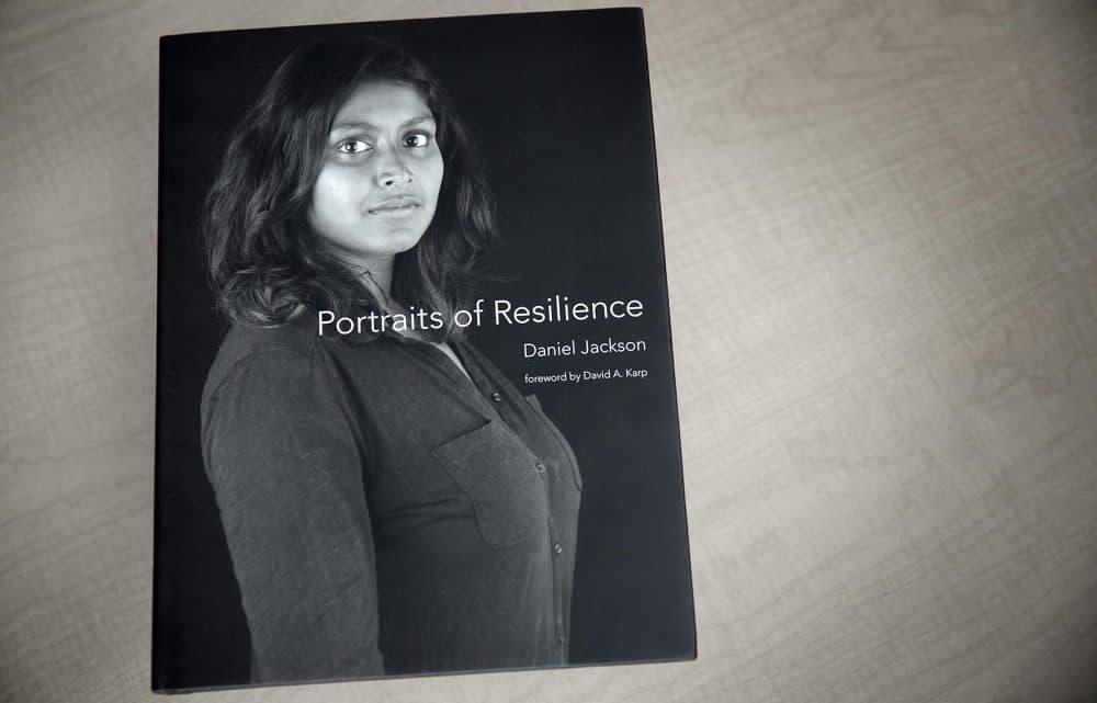 """Portraits of Resilience,"" by Daniel Jackson (Robin Lubbock/WBUR)"