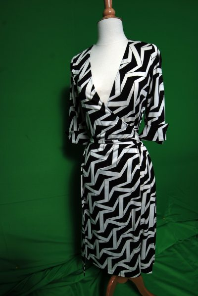 An example of a Diane von Furstenberg jersey wrap dress. (Shoun A. Hill/AP)