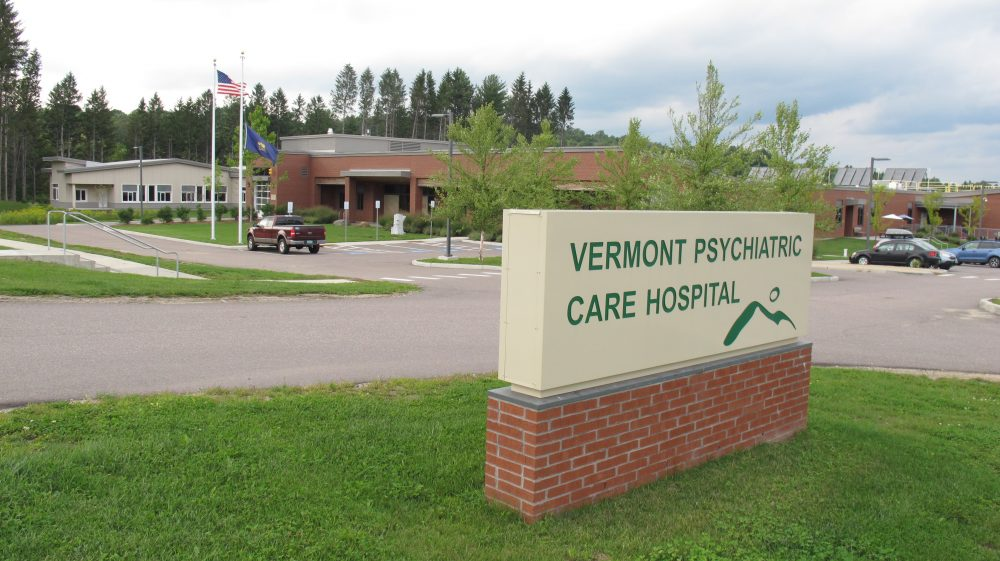 This Aug. 26, 2016 photo shows the Vermont Psychiatric Care Hospital in Berlin, Vt. (Wilson Ring/AP)