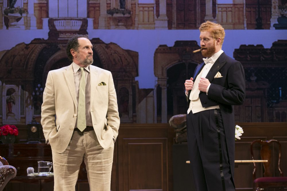 "Jeremiah Kissel and Edward Hoopman in ""Old Money."" (Courtesy Evgenia Eliseeva)"