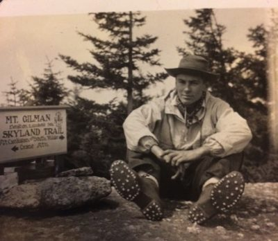 Frank Carlson, in his saddle shoes (Courtesy Julia Carlson)