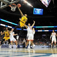 UMBC was the first No. 16 seed in the men's tournament to ever defeat a No. 1 seed when they toppled Virginia. But the Retrievers are just one of many great underdog stories from this March Madness. (Jared C. Tilton/Getty Images)