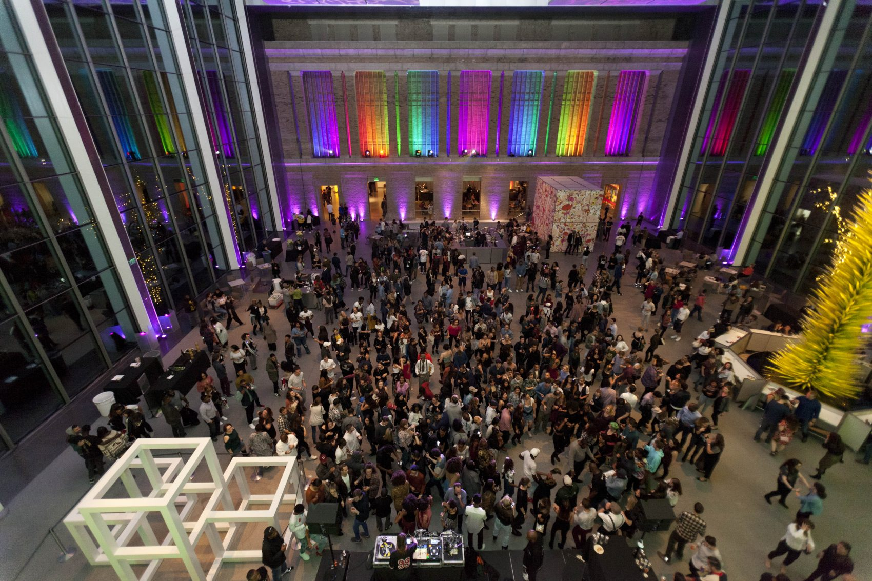 The MFA's recent Late Nite event. (Courtesy Fabian Gomez Photography)