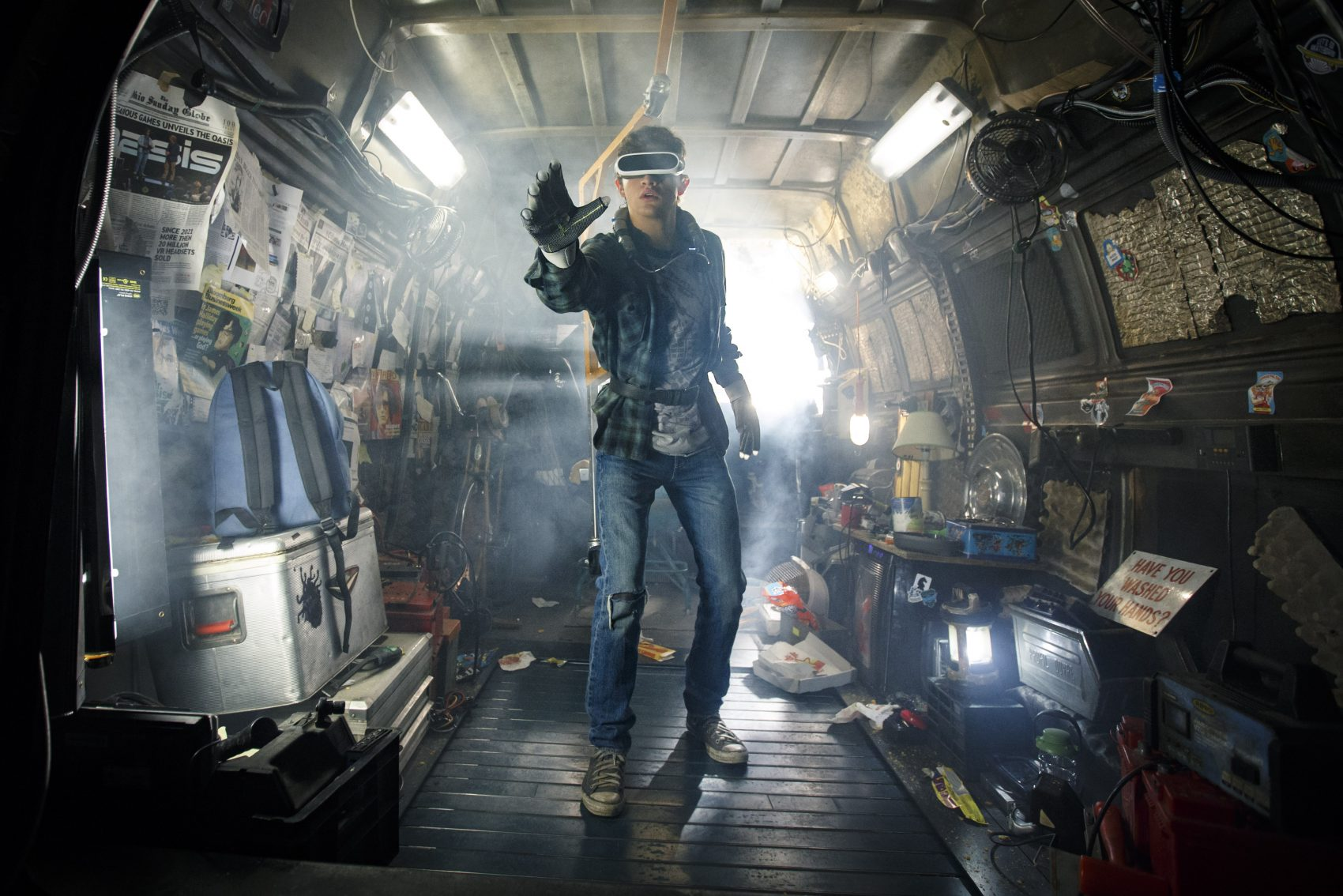 "Tye Sheridan as Wade in ""Ready Player One."" (Courtesy Jaap Buttendijk/Warner Bros.)"