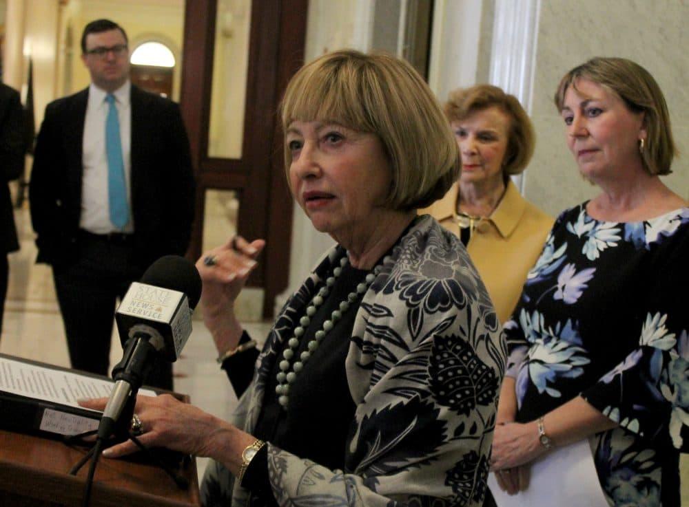 Sen. Cynthia Creem chairs the Senate's net neutrality panel. (Sam Doran/SHNS)