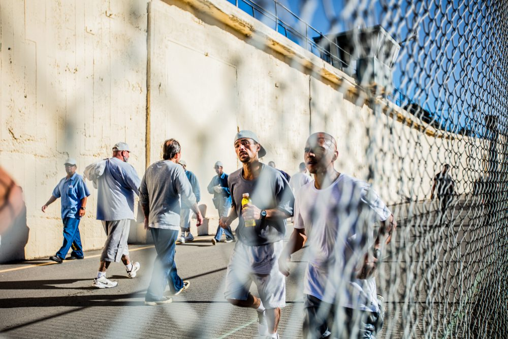 At San Quentin Prison, there's a theater program, a football team, a newspaper, a podcast to work on and, for anybody who wants to run, the San Quentin Marathon. (Jianca Lazarus, Courtesy 26.2 to Life)